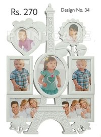 Wall Mounted Plastic Photo Frames