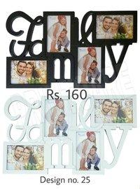 Family Photo Plastic Photo