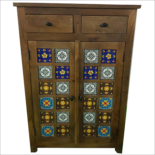 2 Drawer 2 Door Tile Sideboard