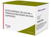 Aceclofenac SR and Thiocolchicoside SR Capsules
