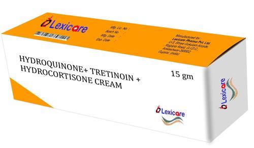 Hydroquinone and Tretinoin and Hydrocortisone Cream