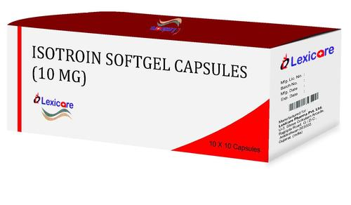 Isotroin Softgel Capsules 10mg
