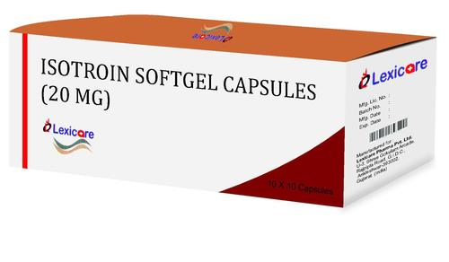 Isotroin Softgel Capsules 20mg