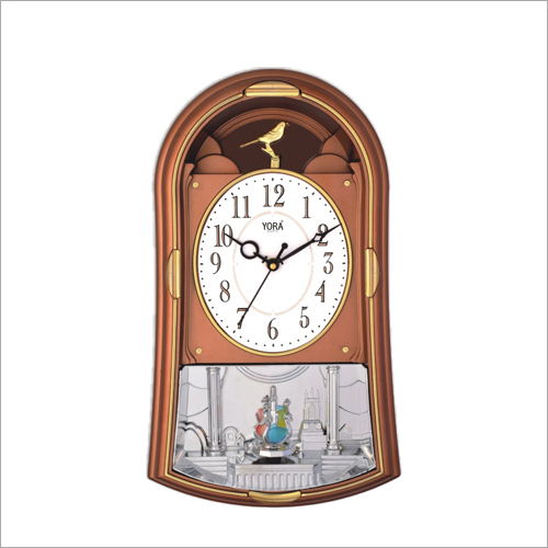 Rotating Pendulum Wall Clock