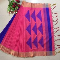 Raw Banglori silk weaving