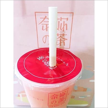 White Boba Paper Straws
