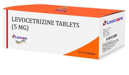 Levocetrizine Tablets 5mg