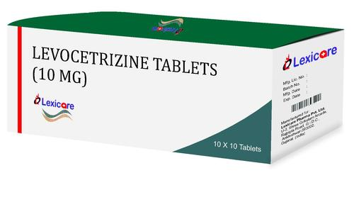 Levocetrizine 10mg Tablets