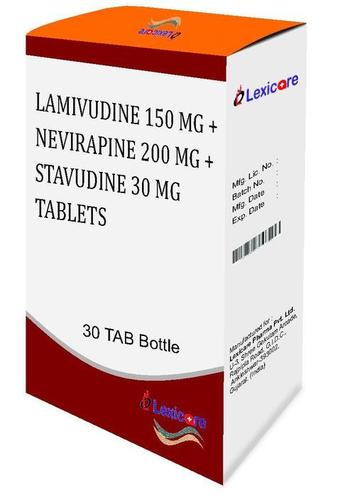 Lamivudine and Nevirapine and Stavudine Tablets