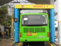 KRE PREMIER S Plus- 2 Brush Bus Wash with Oscillating Blasters Machine