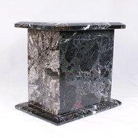 Black Tall Marble Urn