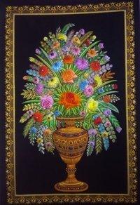 Jewel Carpets / silk thread embroidery