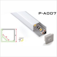 Aluminium RGB LED Strips Corner Profile