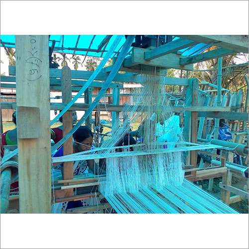 Fly Shuttle Frame Loom with Jacquard