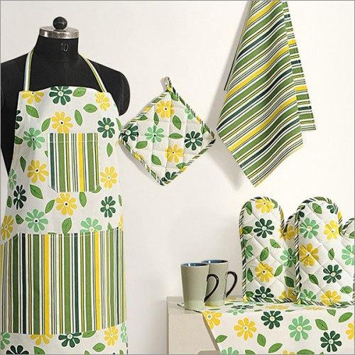 Embroidered Kitchen Linen