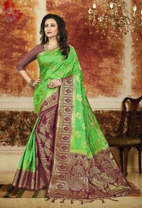 Elegent Art Silk Weaving Saree