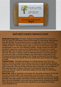 Orange Handmade Soap