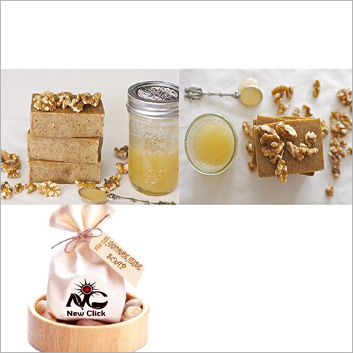 Honey-Walnut-Native Breed Cow Milk Soap