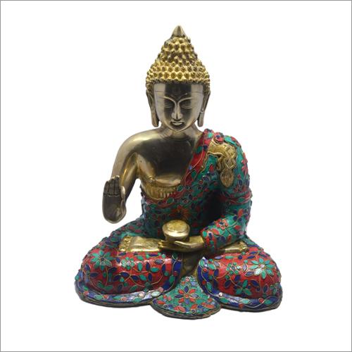 Decorative Brass Buddha Statue