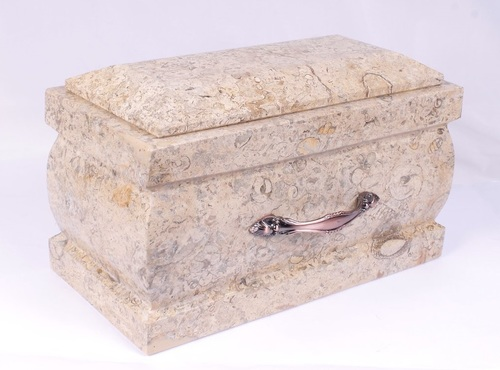 Coral Marble Casket