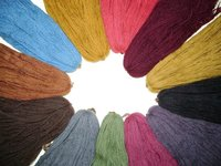 Herbal Dyed Wool Yarn
