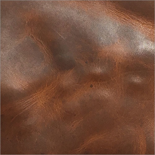 Oily Crunch Finished Leather Sheet