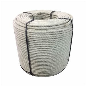 White Cotton Ban Rope Coil