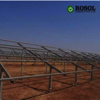 Solar Module Mounting Structure