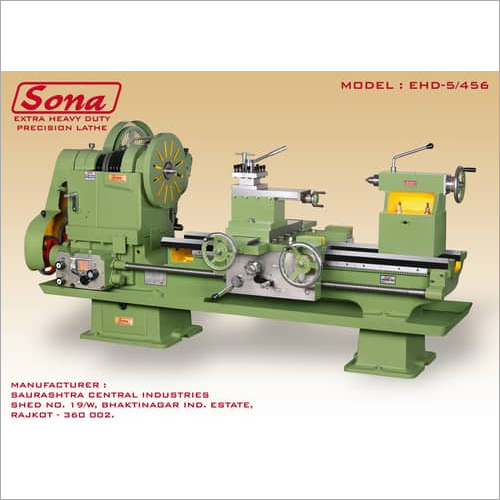 Extra Heavy Duty Lathe Machine
