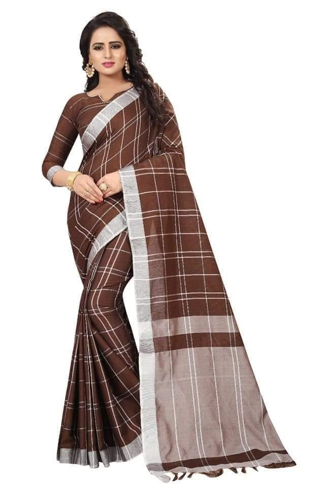 Exclusive Soft Linen Sarees