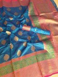Designer Handloom Banarasi Saree