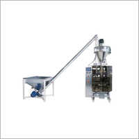 Auger Filler Collar Pouch Packing Machine