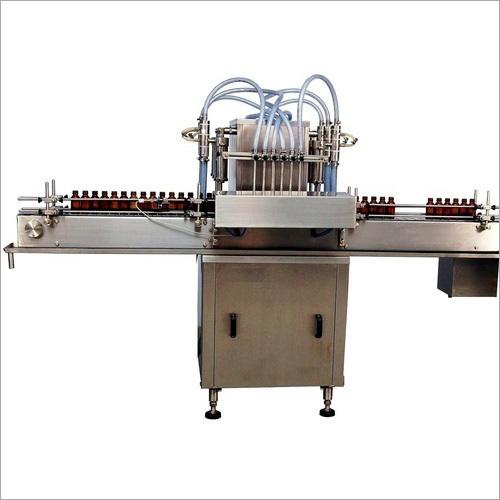 Automatic Six Head Volumetric Liquid Filling Machine