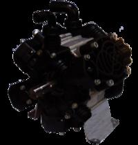 Three Piston Diaphragms Pump