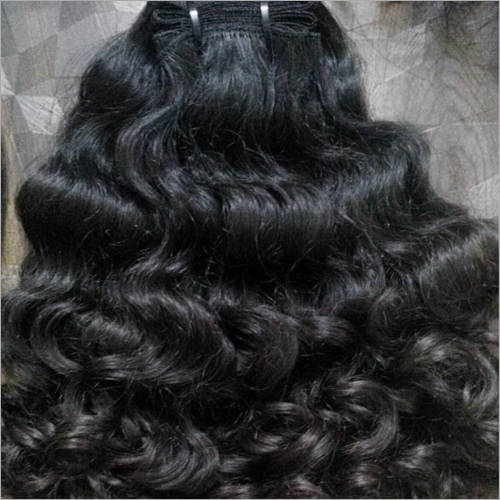 Curly Hair Weft Extension