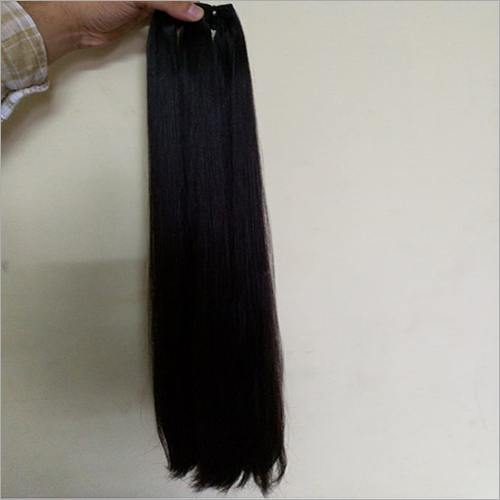 Straight Hair Weft Extension