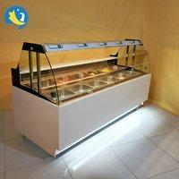 Bakery Display Glass Showcase