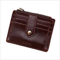 Leather Brown Credit Card Holder