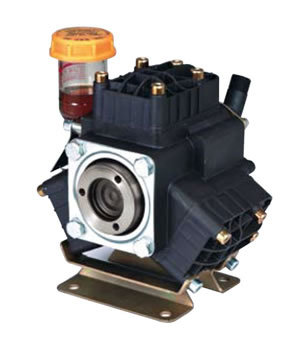 Three Piston Semi-Hydraulic Diaphragm Pump
