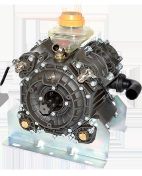 Four Piston Semi-Hydraulic Diaphragm Pump