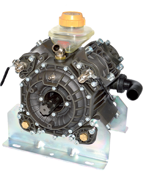 Four Piston Semi-Hydraulic Diaphragm Pump
