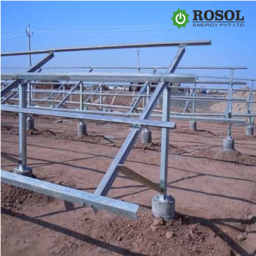 HOT-DIP GALVANIZED SOLAR MOUNTING STRUCTURE