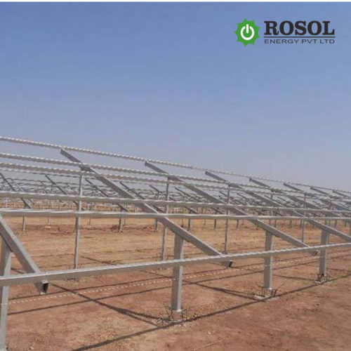 PRE-GALVANIZED SOLAR MOUNGTING STRUCTURE