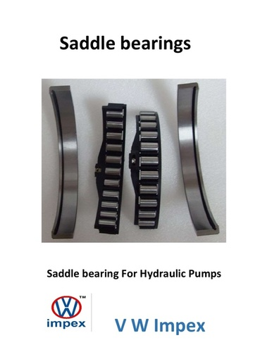 Saddle bearings for Hydraulic Pumps