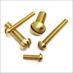 Brass Round Head Screw