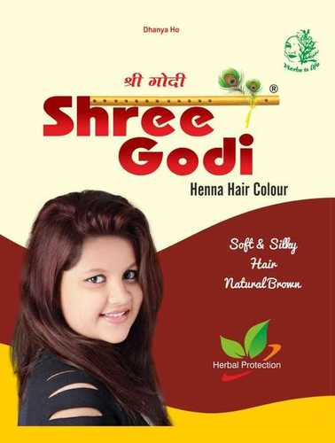 Shree Godi Natural Brown Hair Color