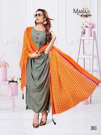 plain designer kurti