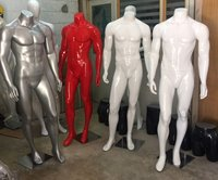 FIBER MALE HEADLESS MANNEQUIN