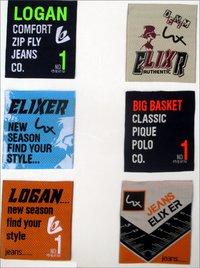 Computerized Woven Label