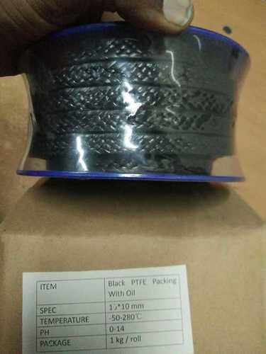 Black ptfe with oil